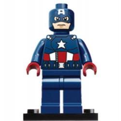 Capitán América sin casco -...