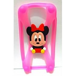 Minnie Baby - Funda Rosa -...
