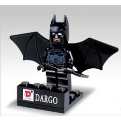 Batman Negro Pecho Azul-...